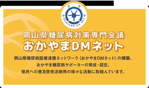 おかやまDMネット(岡山県糖尿病対策専門会議)